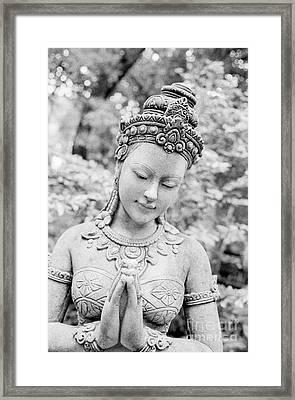 Thai Temple Beauty Framed Print by Dean Harte