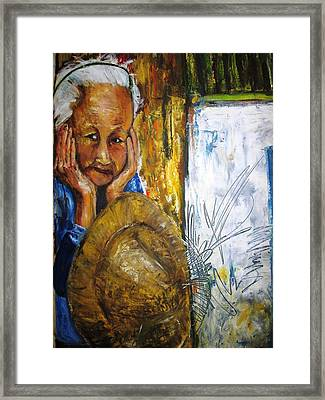 Thai Woman Framed Print by Doris Cohen
