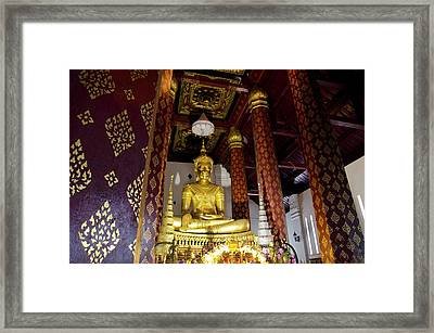 Thailand, Ayuthaya Framed Print by Cindy Miller Hopkins