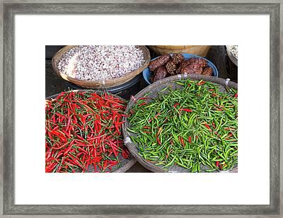 Thailand, Chiang Mai Framed Print
