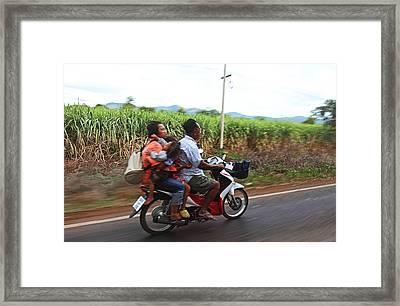 Thailand Transportation - 01131 Framed Print by DC Photographer