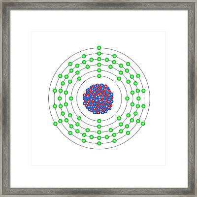 Thallium Framed Print by Science Photo Library