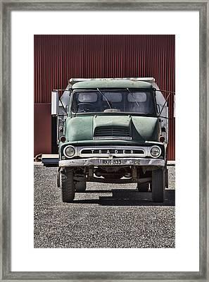 Thames Trader Vintage Truck Framed Print by Douglas Barnard