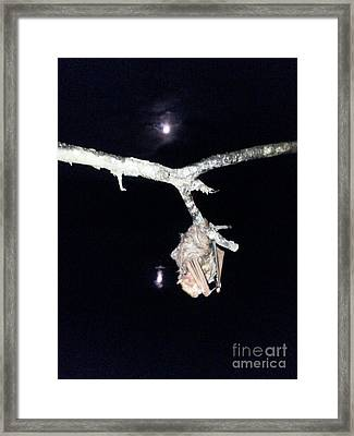 Thank You Lord For Saving Me Framed Print by Donna Brown
