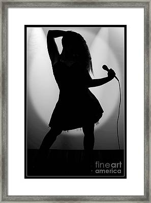 Thank You Very Much 1007.01 Framed Print by M K  Miller
