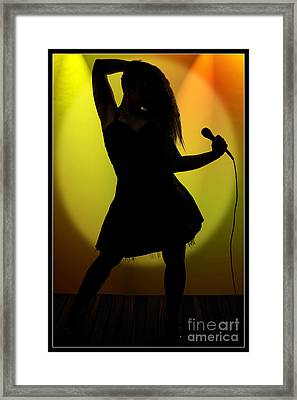 Thank You Very Much 1007.02 Framed Print by M K  Miller