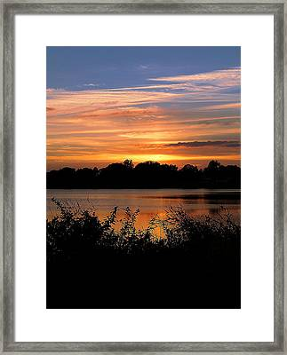 Framed Print featuring the photograph Thanksgiving 002 by Chris Mercer