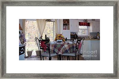 Thanksgiving 2010 By Angelia H Clay Framed Print by Angelia Hodges Clay