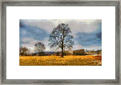 Thanksgiving Day In Ohio Framed Print by Dan Sproul