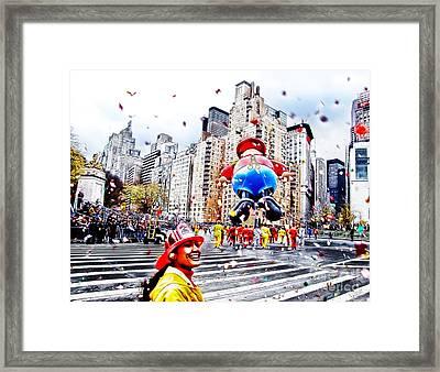 Thanksgiving Parade Framed Print by Nishanth Gopinathan