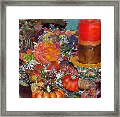 Thanksgiving Remembrance Framed Print