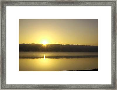 Thanksgiving Sunrise II Framed Print