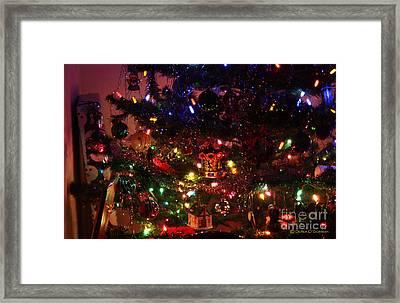 That Christmas Glow Framed Print