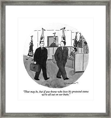 That Framed Print by Danny Shanahan