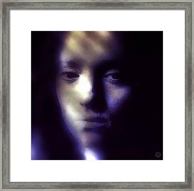 That Empty Feeling Framed Print by Gun Legler