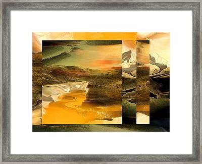 That Far Shore Framed Print by Ginny Schmidt