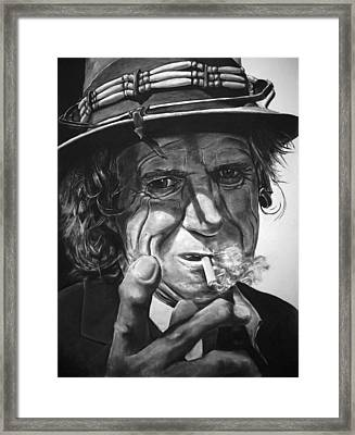 That Guy Looks Like Keith Richards Framed Print