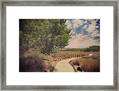 That Helping Hand Framed Print by Laurie Search