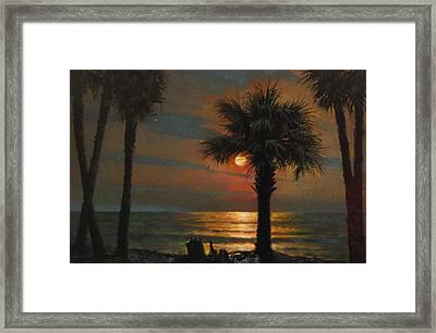 That I Should Love A Bright Particular Star Framed Print by Blue Sky