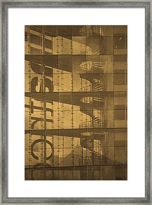 That Long Stairway Framed Print