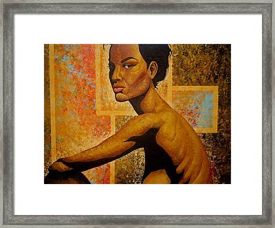 That Look Framed Print by William Roby