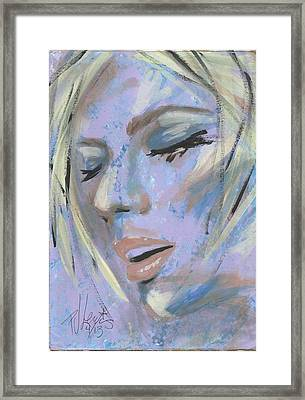 That Moment Framed Print by P J Lewis