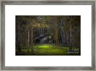 That Old Barn Framed Print by Marvin Spates