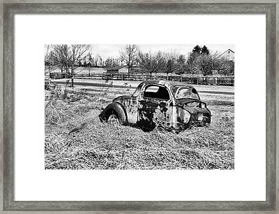 That Old Car Framed Print by Paul Ward