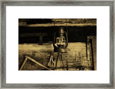 That Old Lantern Framed Print by Dan Sproul
