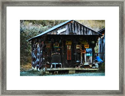 That Old Shack Framed Print by Dan Sproul