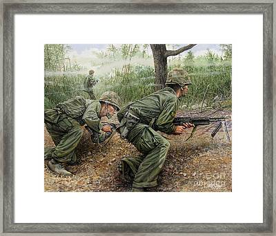 That Particular Moment Framed Print