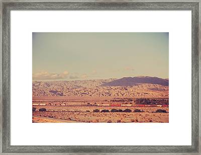 That Side Of The Tracks Framed Print by Laurie Search