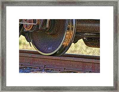 That Train Just Keeps A Rollin Framed Print