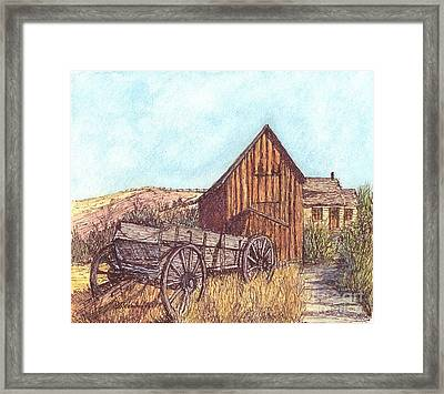 That Which Once Was Framed Print