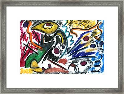 That Which Remains Unseen Framed Print