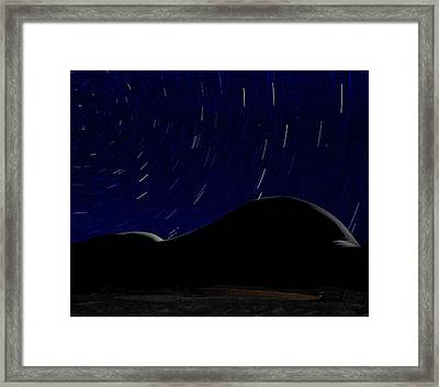 That Which The Universe Revolves Around Framed Print by Alfredo Martinez