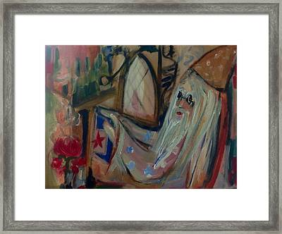 That Would Be Wizard Framed Print