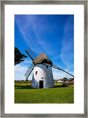 Thatched Windmill, Tacumshane, County Framed Print by Panoramic Images