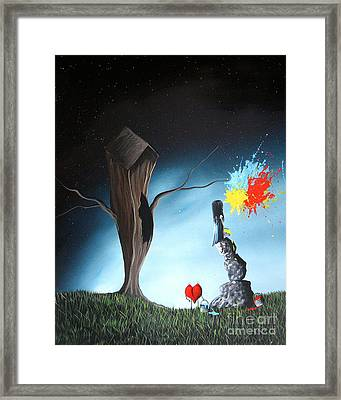 That's Better By Shawna Erback Framed Print