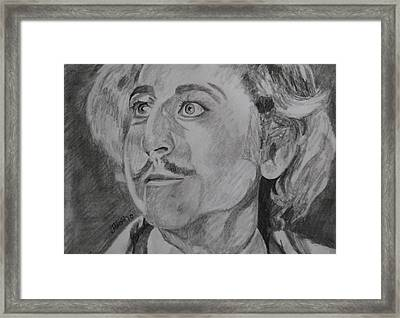 Thats Fronkensteen Framed Print by Jeremy Moore
