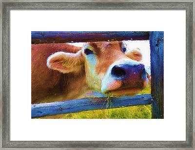 That's My Lunch Framed Print by Ayse Deniz