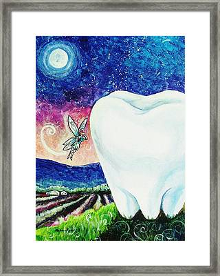 That's No Baby Tooth Framed Print