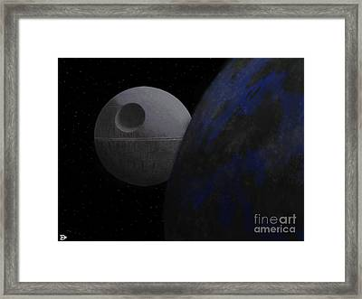 ...that's No Moon... Framed Print