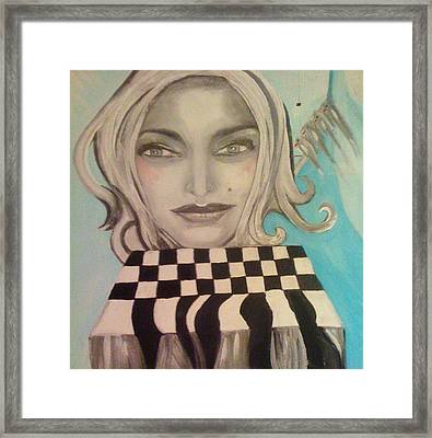 That's Not A Chessboard Framed Print