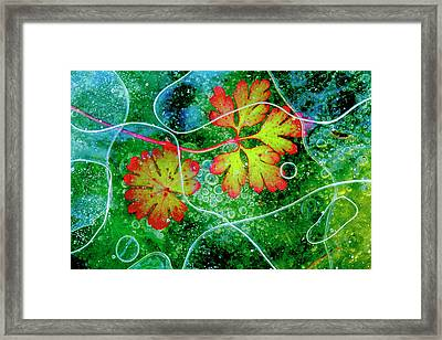 Thaw Framed Print by Andres Miguel Dominguez
