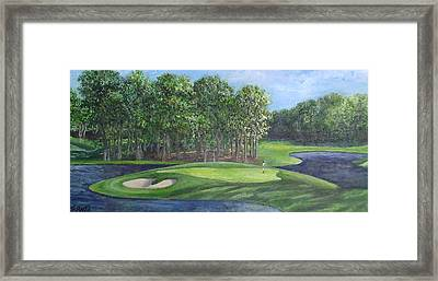 The 10th At Meadow Brook Golf Club Framed Print by Annie St Martin