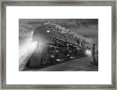 The 1218 On The Move 2 Framed Print by Mike McGlothlen