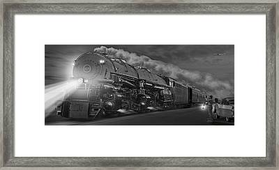 The 1218 On The Move - Panoramic Framed Print