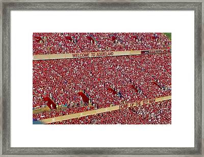 The 12th Man Framed Print