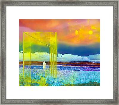 The 13th Dimension Framed Print by Camille Lopez